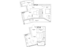 ЖК O2 Residence: планировка 3-комнатной квартиры 99.18 м²