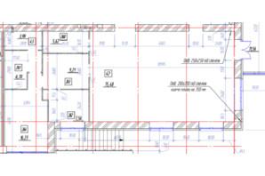 ЖК Oasis: планировка помощения 131 м²