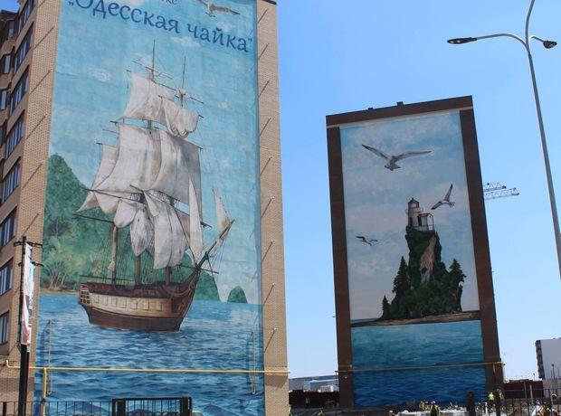 ЖК Одеська Чайка хід будівництва фото 154147