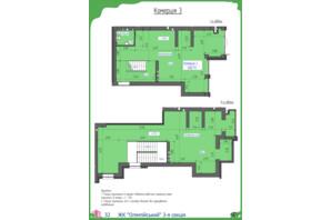 ЖК Олімпійський: планування приміщення 208.79 м²
