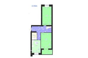 ЖК Олимпийский: планировка 5-комнатной квартиры 145 м²