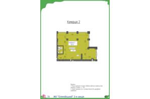 ЖК Олимпийский: планировка помощения 78.4 м²