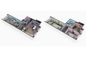 ЖК Оптимісто: планировка 3-комнатной квартиры 112 м²