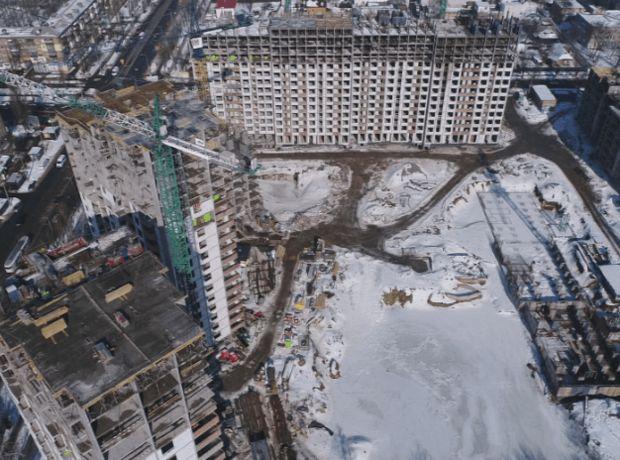 ЖК Отрада ход строительства фото 244115