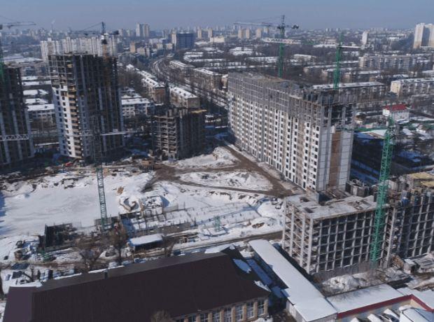 ЖК Отрада ход строительства фото 244116