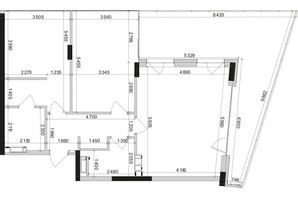 ЖК Park Lake City: планування 2-кімнатної квартири 90.81 м²