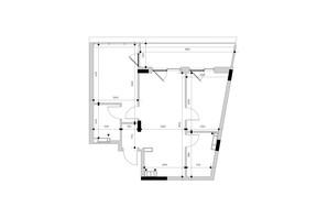 ЖК Park Lake City: планування 2-кімнатної квартири 69.07 м²