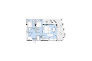 ЖК Park Lake City: планування 3-кімнатної квартири 103.12 м²