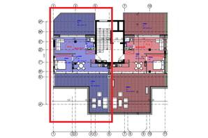 ЖК Park Residence: планування 1-кімнатної квартири 65.6 м²