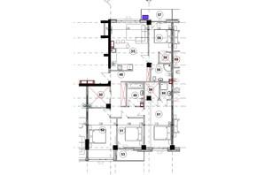 ЖК Park Residence: планировка 4-комнатной квартиры 118 м²