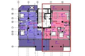 ЖК Park Residence: планировка 3-комнатной квартиры 93.5 м²