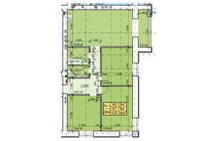 ЖК Парковый: планировка 3-комнатной квартиры 103.34 м²