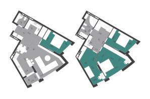 ЖК Парус City: планування 5-кімнатної квартири 132.27 м²