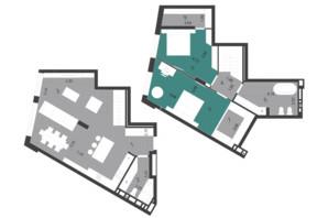 ЖК Парус City: планування 3-кімнатної квартири 112.79 м²