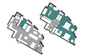 ЖК Парус City: планировка 4-комнатной квартиры 129.26 м²