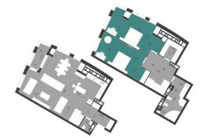 ЖК Парус City: планировка 3-комнатной квартиры 137.07 м²