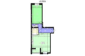 ЖК Парус (Parus): планування 3-кімнатної квартири 151.73 м²