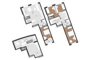 ЖК Парус Преміум: планування 4-кімнатної квартири 139.4 м²
