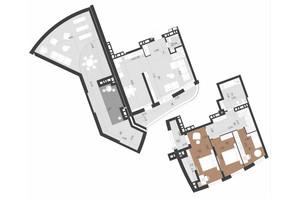 ЖК Парус Преміум: планування 3-кімнатної квартири 148.3 м²