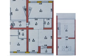 ЖК Перлина Мостищини: планування 4-кімнатної квартири 120 м²