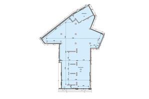 ЖК Podil Plaza & Residence: планування приміщення 564.71 м²