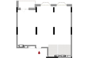 ЖК Подол Град Vintage: планировка 2-комнатной квартиры 85.08 м²
