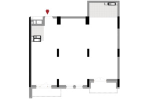 ЖК Подол Град Vintage: планировка 2-комнатной квартиры 80.72 м²