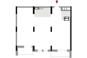 ЖК Подол Град Vintage: планування 2-кімнатної квартири 79.86 м²