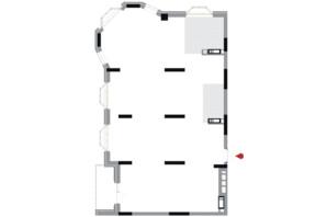 ЖК Подол Град Vintage (Подол Град Винтаж): планировка 3-комнатной квартиры 116.1 м²