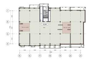 ЖК Пространство на Донского: планировка помощения 608 м²