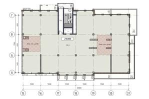 ЖК Пространство на Донского: планировка помощения 570 м²