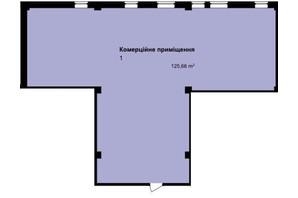 ЖК Q-7 Quoroom Apartments: планировка помощения 125.66 м²