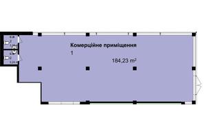 ЖК Q-7 Quoroom Apartments: планировка помощения 184.23 м²