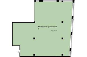 ЖК Q-7 Quoroom Apartments: планировка помощения 182.27 м²