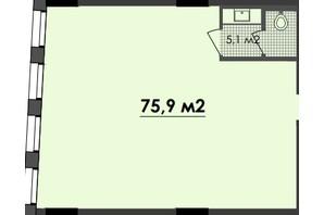 ЖК Respect Hall: планування приміщення 75.9 м²