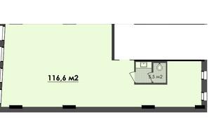 ЖК Respect Hall: планування приміщення 116.6 м²