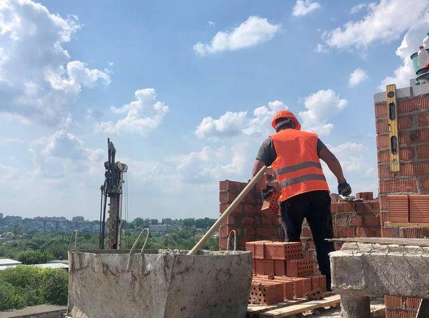 ЖК Счастливый на Днепре ход строительства фото 271087