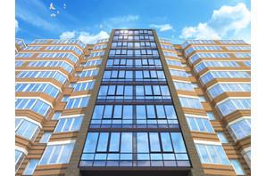 ЖК Сhurchill House: планировка 1-комнатной квартиры 56.5 м²