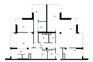 ЖК Skyline Residences: планировка 5-комнатной квартиры 260 м²