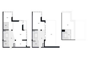 ЖК Skyline Residences: планировка 5-комнатной квартиры 255 м²