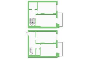 ЖК Софіївка: планування 3-кімнатної квартири 89.9 м²