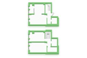 ЖК Софіївка: планування 3-кімнатної квартири 82.7 м²