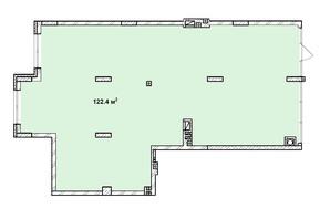 ЖК Софіївка: планування приміщення 122.4 м²