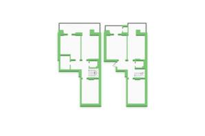 ЖК Софіївка: планування 5-кімнатної квартири 136.2 м²