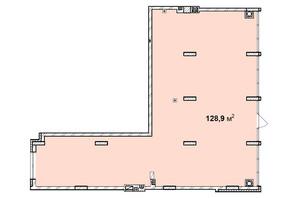 ЖК Софиевка: планировка помощения 128.9 м²