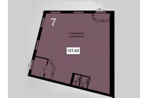 ЖК Соседи: планировка помощения 157.62 м²
