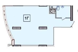 ЖК SunCity: планування 1-кімнатної квартири 32.59 м²