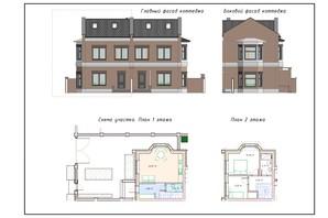 ЖК Теремки: планировка 2-комнатной квартиры 75 м²