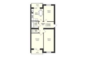 ЖК Тетріс: планування 3-кімнатної квартири 83 м²
