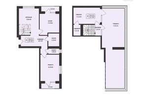 ЖК Тетріс: планування 3-кімнатної квартири 94.23 м²